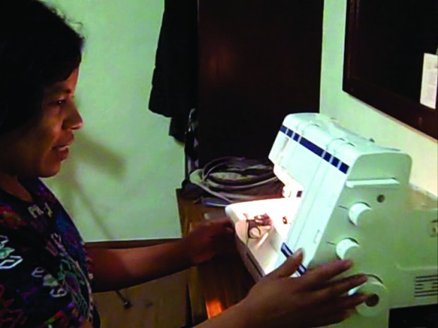 A Sewing Machine for Magdalena
